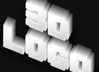 3D конструктор классических объемных строгих надписей из шрифтов