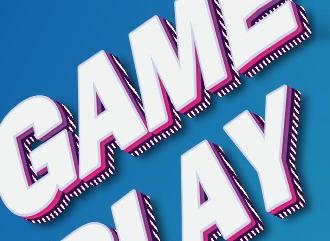 Сделать 3D gameplay стиль текст красивым шрифтом