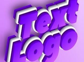 Многослойная объемная надпись создать онлайн