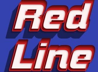 Красивый redline шрифт HD стиле