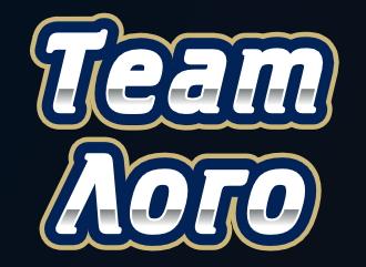 Спортивный логотип создать лого для команды в стиле TEAM